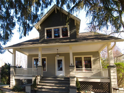 1920s Craftsman Style Bungalow Remodel Old Dominion Building Group