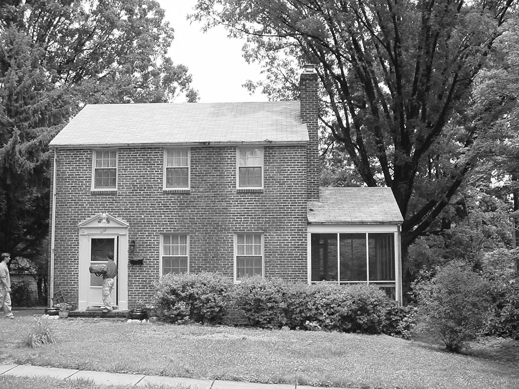 1940's brick colonial home renovation in northern va – old