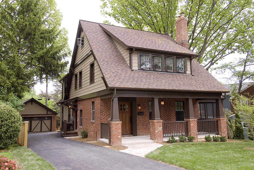 Colonial brick homes with brown pictures to pin on for Colonial brick