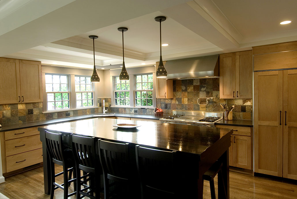 wonderful Colonial Kitchen Remodel #10: 1940u0027s Colonial Kitchen Remodeling Project in ...