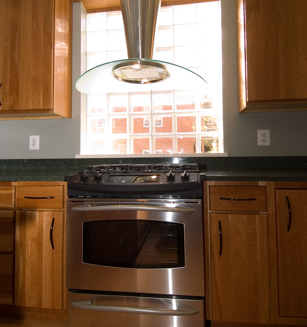 1950 s brick rambler home remodel old dominion building for Rambler kitchen remodel ideas