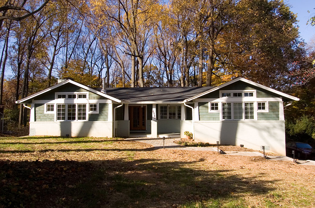 1950's Brick Rambler Home Remodel