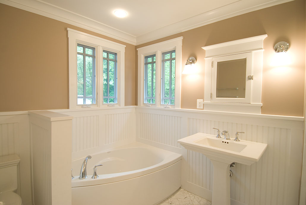 Bathroom Renovation in 1950's Split Level Home