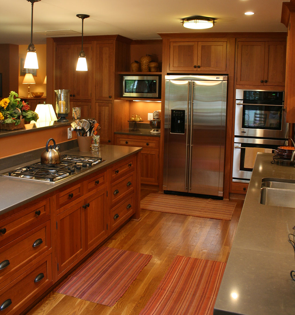 Northern virginia kitchen remodeling old dominion for Remodeling a split level home