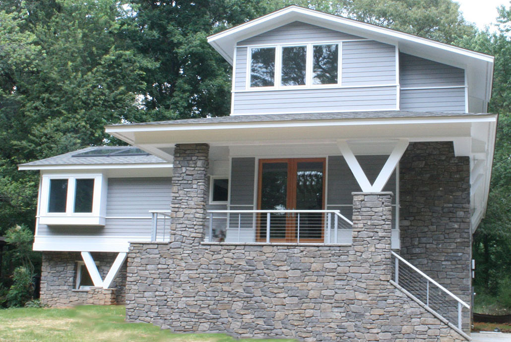 1970s 3 Story Remodel in Northern Virginia – Old Dominion Building on house exterior decorating, room makeover, driveway makeover, house exterior siding, house exterior garden, ceiling makeover, fashion makeover, porch makeover, island makeover, diy makeover, furniture makeover, apartment makeover, house exterior paint, house exterior color, wallpaper makeover, house exterior furniture, deck makeover, window makeover, office makeover, house exterior green,