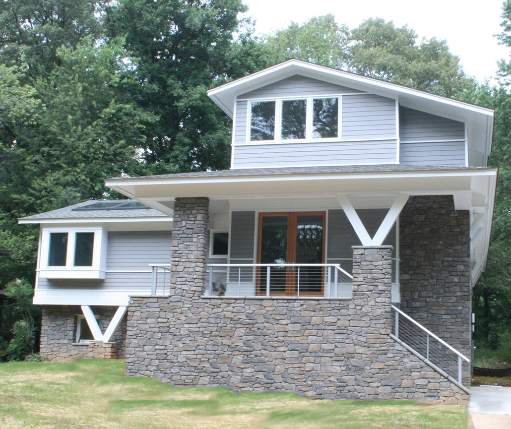 1970's Forest Street - Northern Virginia Remodel