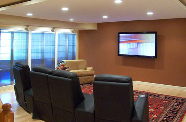 Custom Home Theater in Northern VA