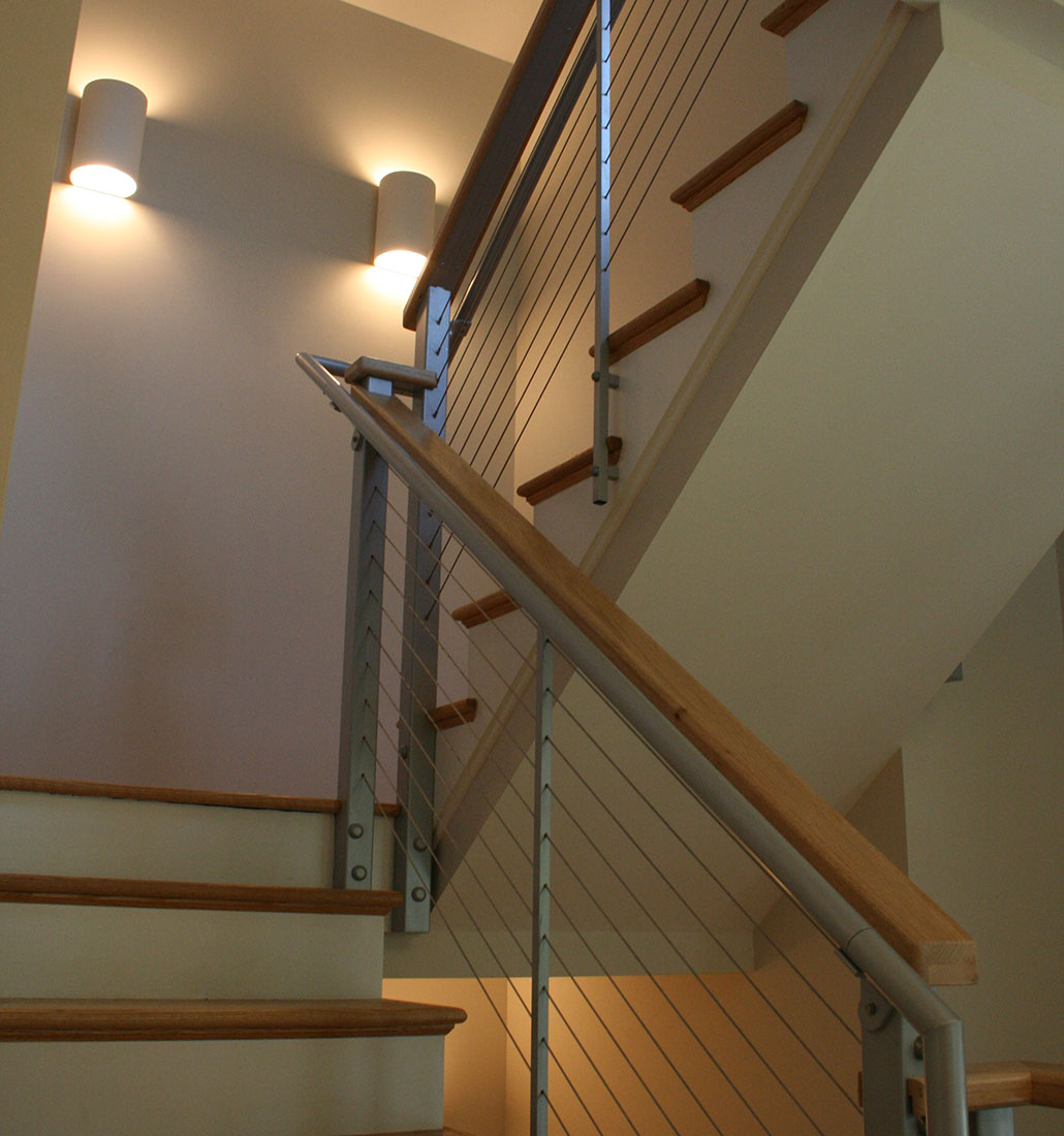 Metal Cable Staircase