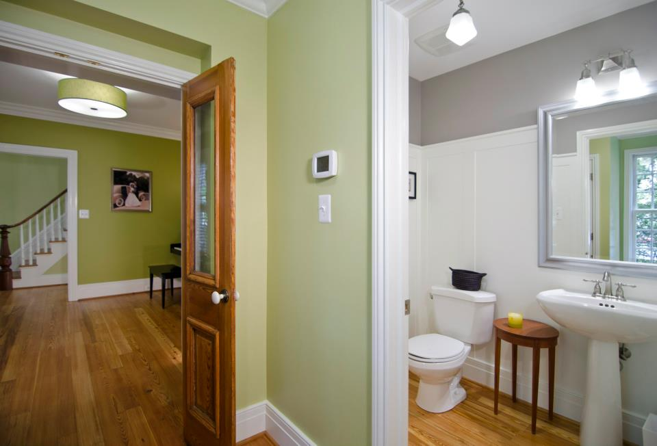 Historic Home Renovation Addition Old Dominion Building Group - Historic bathroom remodel