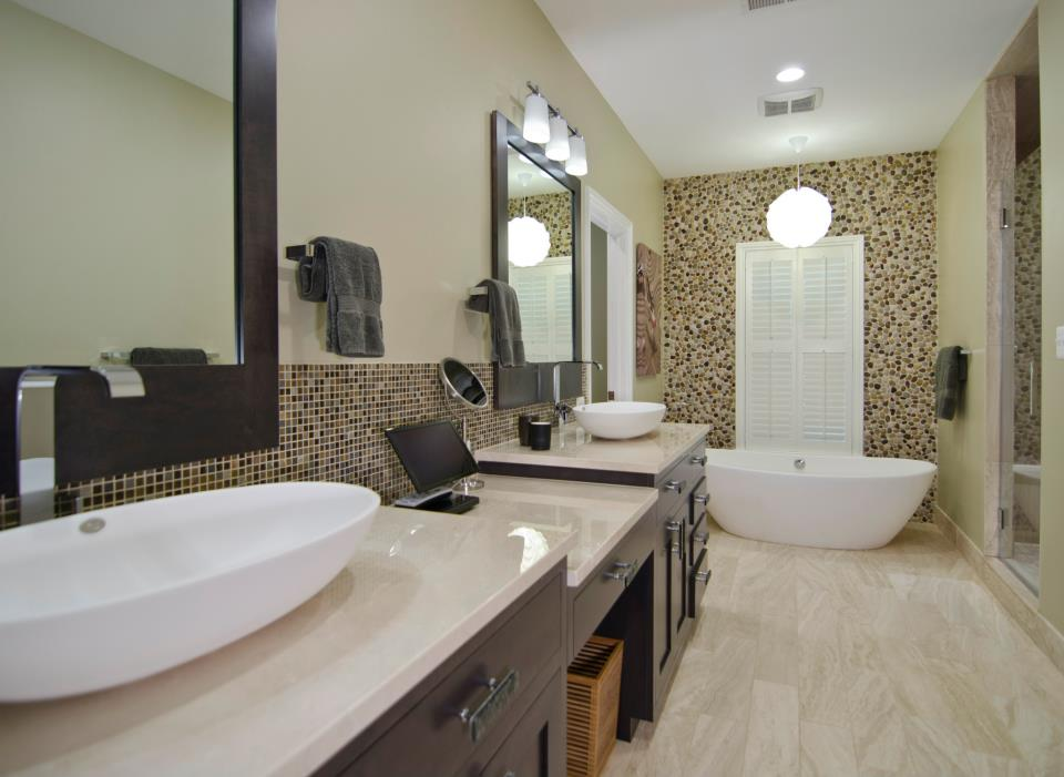 Home Bathroom Remodeling Enchanting Bathroom Remodeling  Old Dominion Building Group Decorating Design