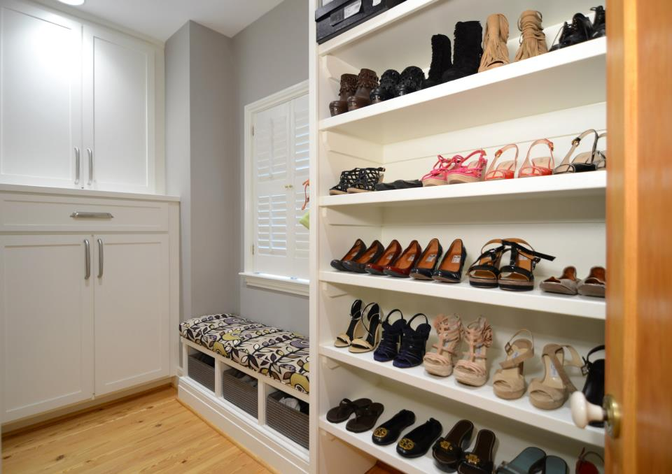 Custom closets and carpentry