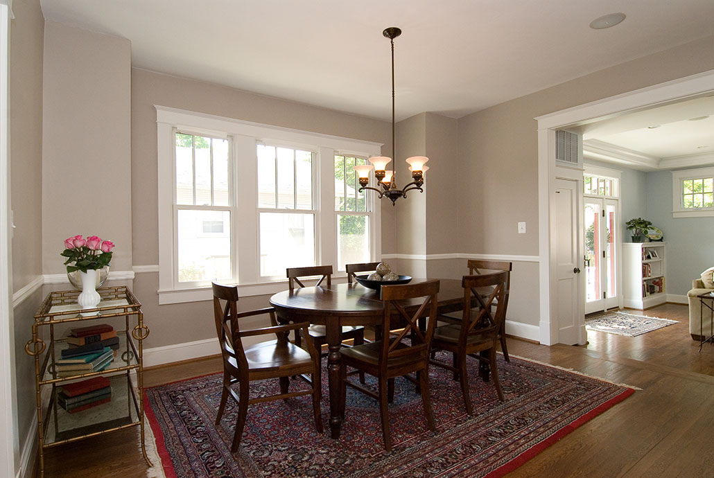 ngarfield dining room remodel virginia