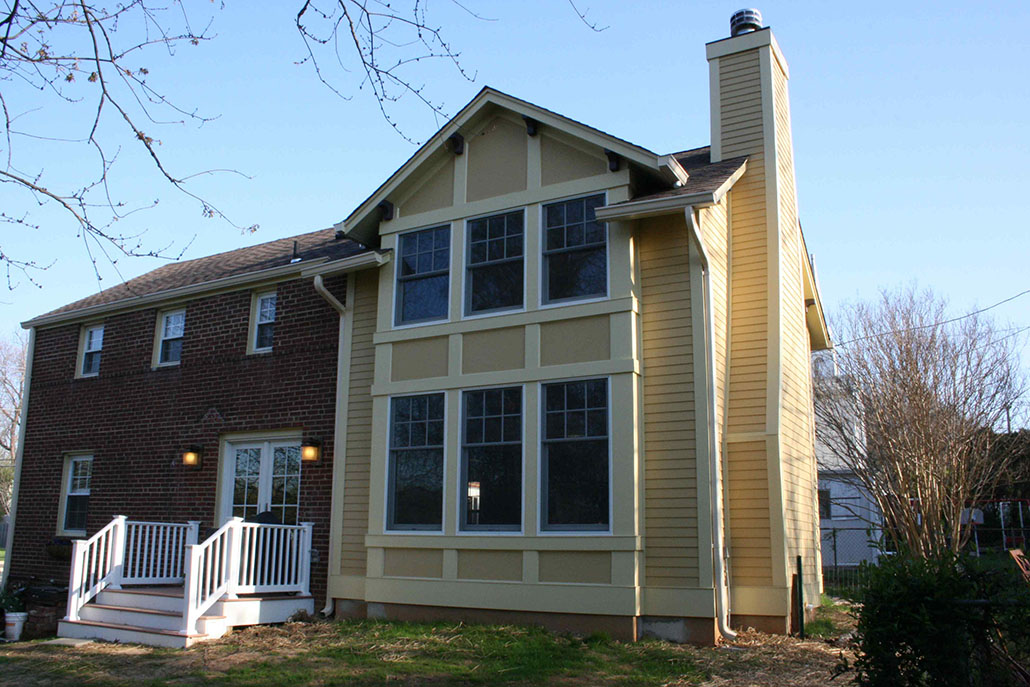 Patrick Henry 2 Story Addition in Northern Virginia