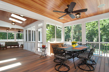 Nice Porch And Patio Deck Builders In Northern Virginia