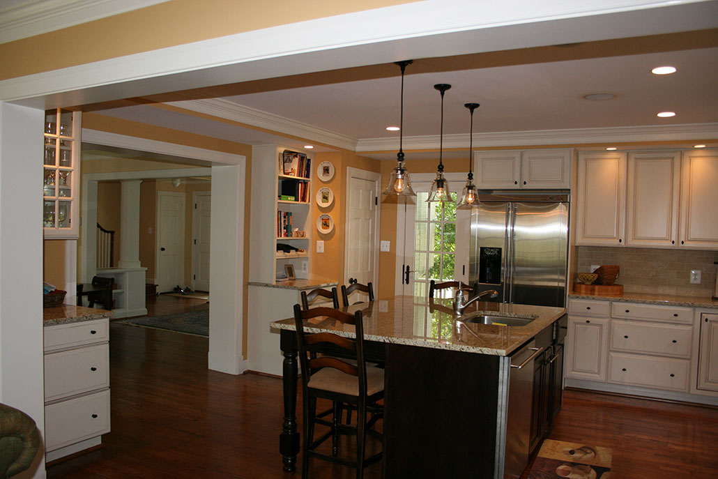 kitchen remodel northern virginia greenbrier kitchen renovation - Kitchen Remodeling Arlington Va