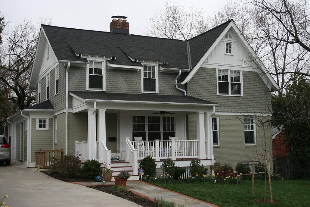 Putnam Street Home Renovation in Northern Virginia
