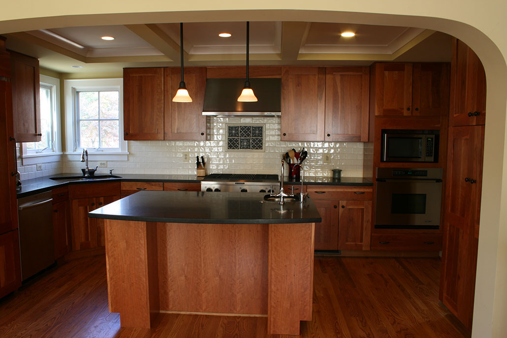 S Cape Cod Story Addition Old Dominion Building Group - Kitchen remodel northern virginia