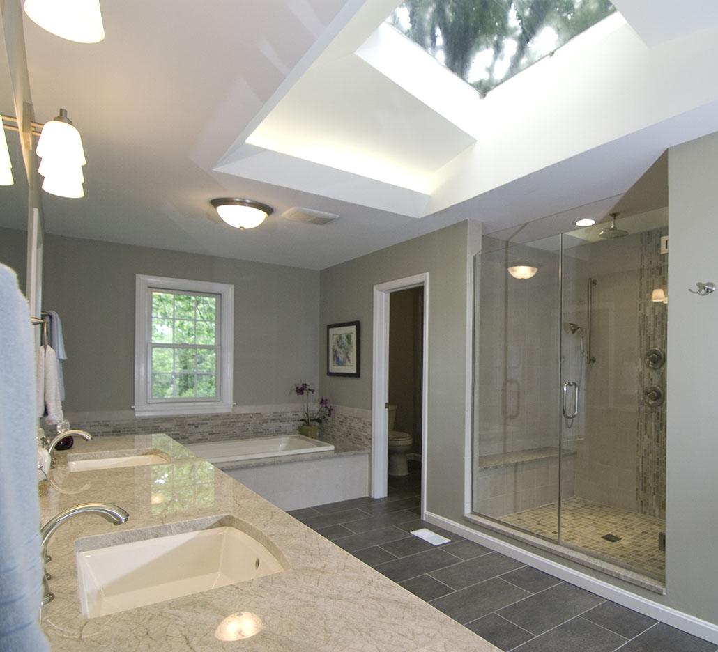 Bath with Sky Light