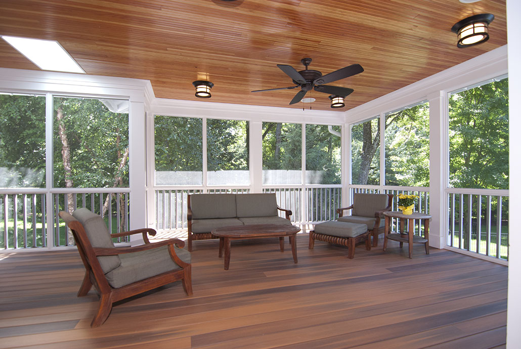 Wood Porch and Patio Renovation in Northern Virginia