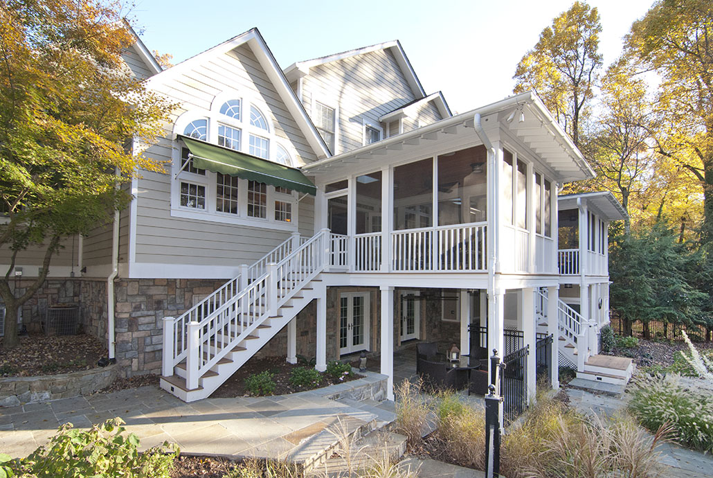 Porch and Patio Addition in Northern Virginia